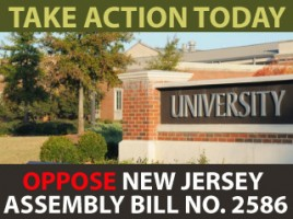 Petition: Oppose New Jersey Assembly Bill No. 2586 (S-1534)